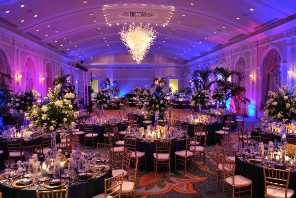 Our lighting package @ Vinoy's Grand Ballroom