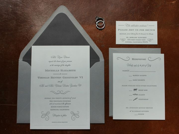 Tmx 1437404218761 Img2966 Libertyville, Illinois wedding invitation