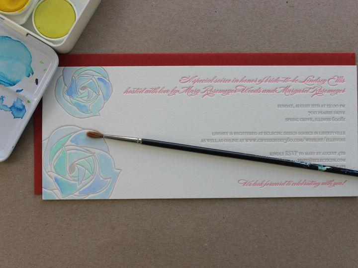 Tmx 1437404475148 Img3053 Libertyville, Illinois wedding invitation