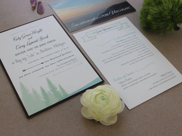 Tmx 1437404622275 Img3061 Libertyville, Illinois wedding invitation