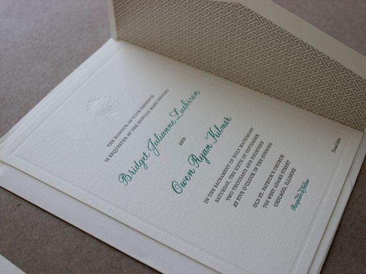Tmx 1437404849768 Img3101 Libertyville, Illinois wedding invitation