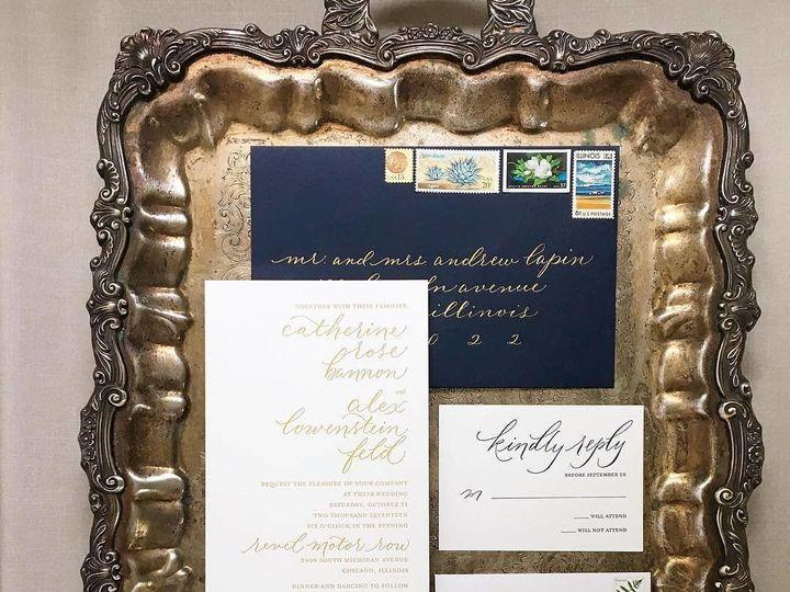 Tmx 1520134122 82fdb9aadb85cf07 1520134121 8ae684700bc09426 1520134120811 3 27912708 189009035 Libertyville, Illinois wedding invitation
