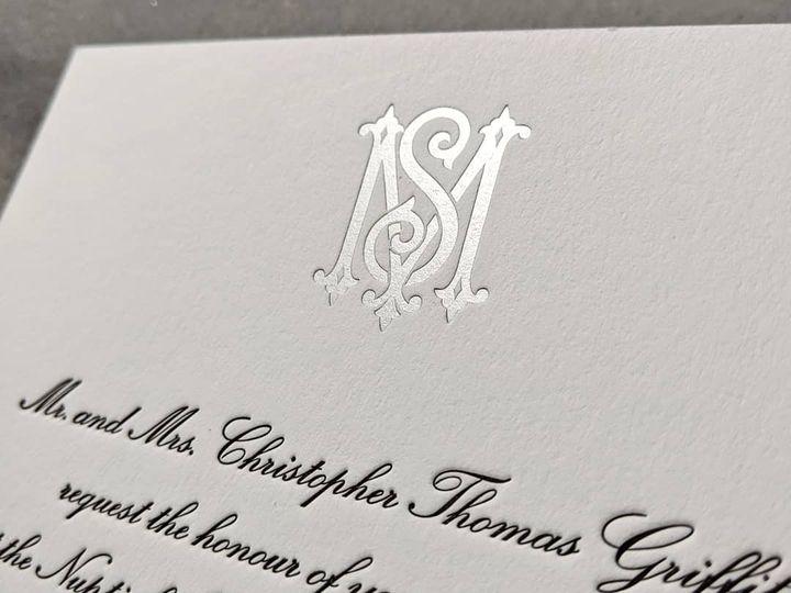 Tmx Letterpressbylydia23 51 363573 158557530896927 Libertyville, Illinois wedding invitation