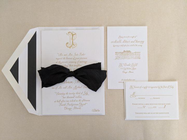 Tmx Letterpressbylydia44 51 363573 158557530970836 Libertyville, Illinois wedding invitation
