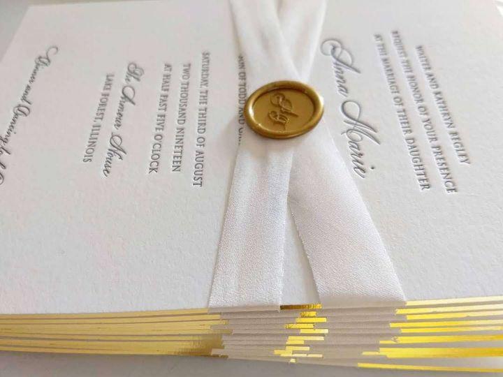 Tmx Letterpressbylydia45 51 363573 158557530877272 Libertyville, Illinois wedding invitation