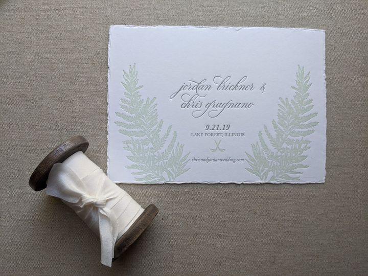 Tmx Letterpressbylydia9 51 363573 158557530731714 Libertyville, Illinois wedding invitation
