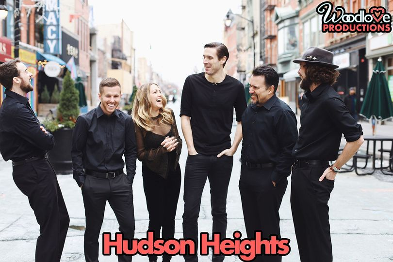 Hudson heights - these guys (and gal) will take your wedding to new heights!