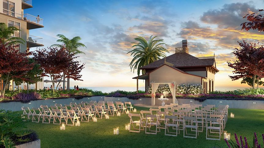 Mission Pacific Wedding Lawn