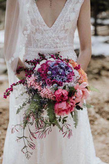 Coutour bouquet