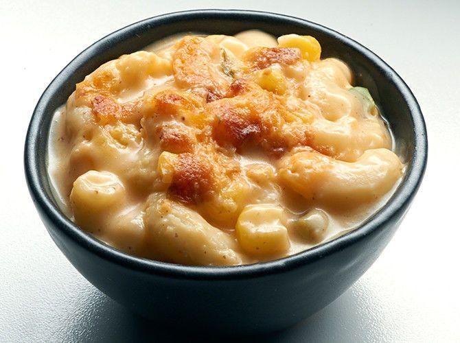 The macaroni dish