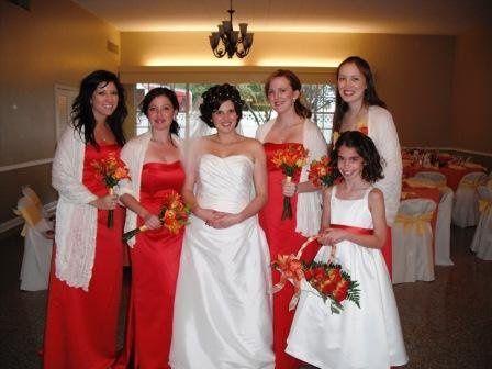 Kim's Bridesmaids, MOH & flower girl