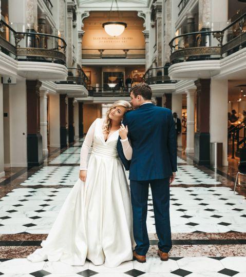 The happy couple - Nilam Photography