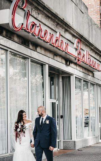 Outside the ballroom - Nilam Photography