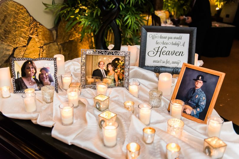 Candles and frames
