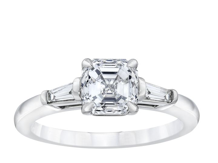 Tmx 50315226 3 Stone Asscher With Baguettes Ring Standing 51 801673 159776299360552 South Orange, NJ wedding jewelry