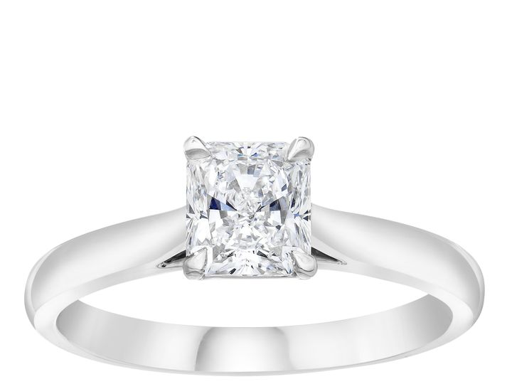 Tmx 51430771245 Radiant Diamond Solitaire Ring Standing 51 801673 159776341268035 South Orange, NJ wedding jewelry