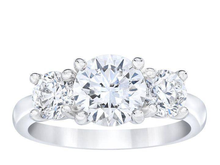 Tmx Br350168082 3 Stone Round Diamond Ring Standing 51 801673 159776279179413 South Orange, NJ wedding jewelry