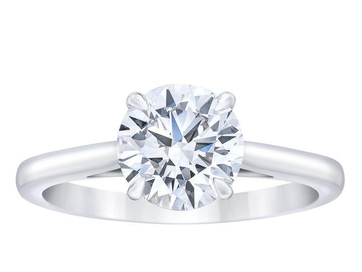 Tmx Br55671873 Round Diamond Solitaire Ring Standing 51 801673 159776341362636 South Orange, NJ wedding jewelry