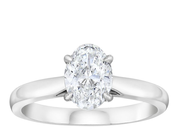 Tmx Cs04pk Oval Diamond Solitaire Ring Standing 51 801673 159776341317165 South Orange, NJ wedding jewelry