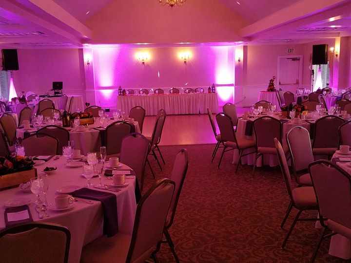 Tmx 1457971938264 Portsmouthcc Pink Uplighting Concord, NH wedding dj
