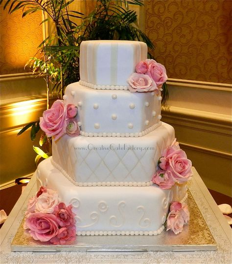 creative cake factory wedding cake florida miami ft lauderdale west palm beach and. Black Bedroom Furniture Sets. Home Design Ideas