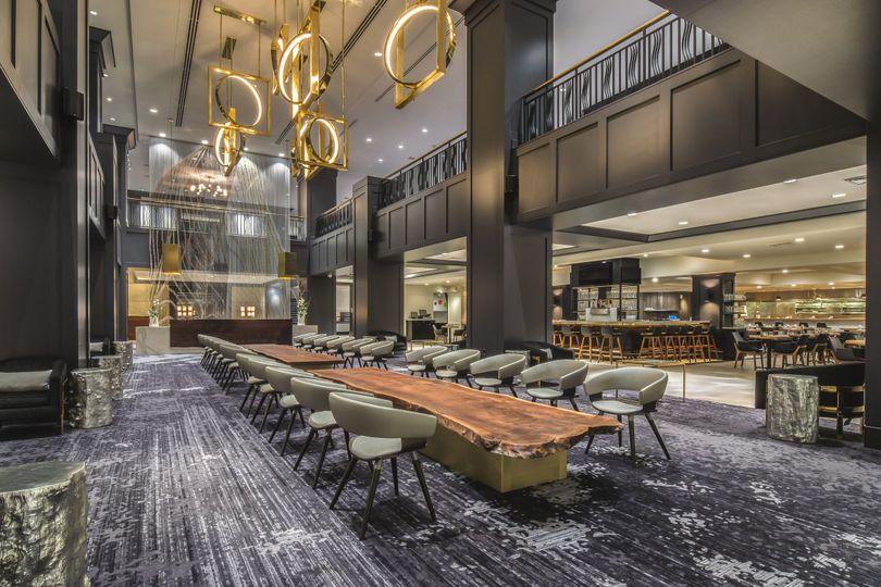 Hotel Lobby - Wedding Venue