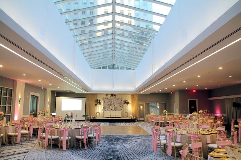 Reception facing South  - Wedding Venue