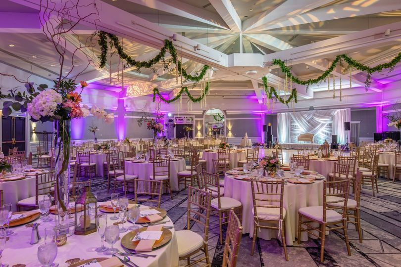 Wedding reception - pavilion
