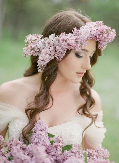 Sweet Lilacs Bride