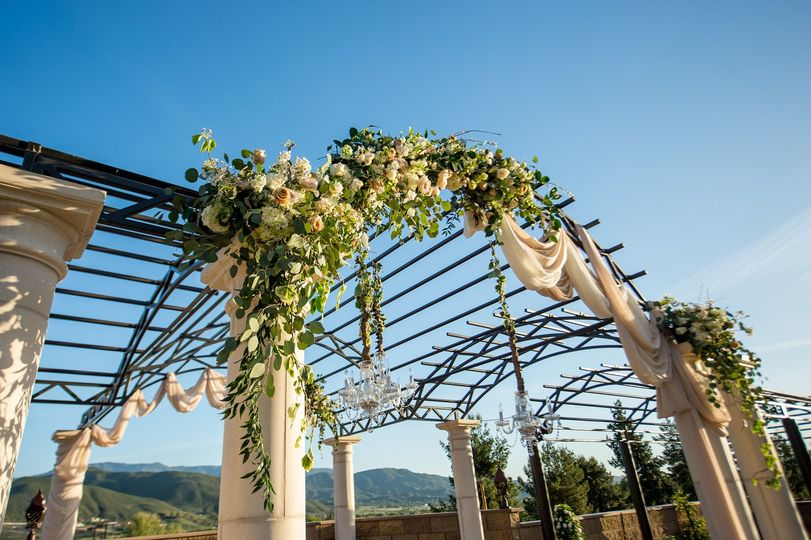 Arbor decoration