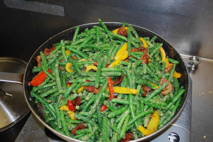 Our homemade green beans