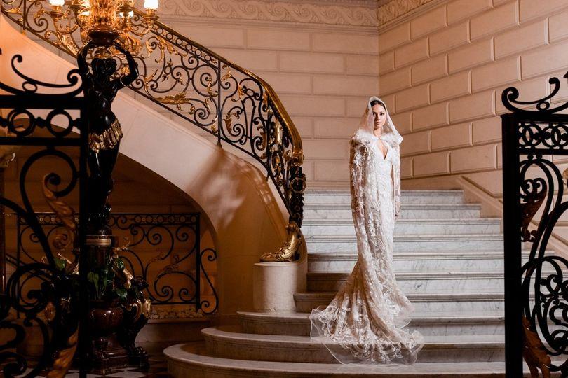 Elegant wedding in Paris