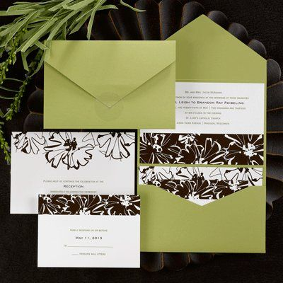 This olive green pocket mailer creates a look all its own when you add the ensemble pieces featuring...