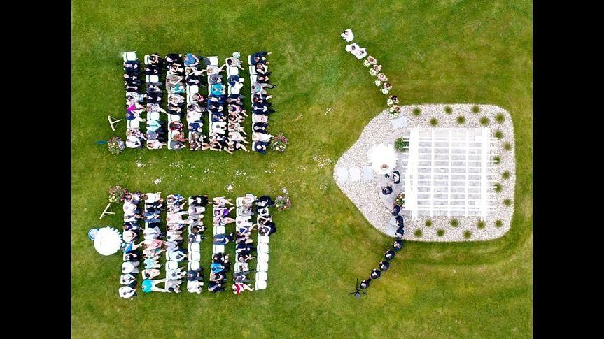 Ceremony via drone