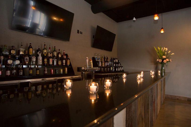 Bar area