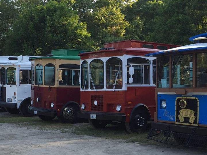 Tmx South County Trolley Transportation 03 51 36673 Wakefield, Rhode Island wedding transportation