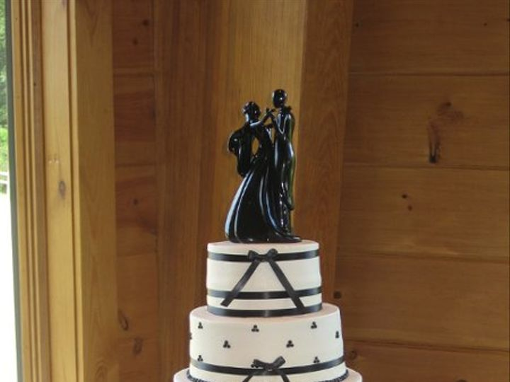 Tmx 1256773841708 IMG2031 Fairfield, Pennsylvania wedding cake