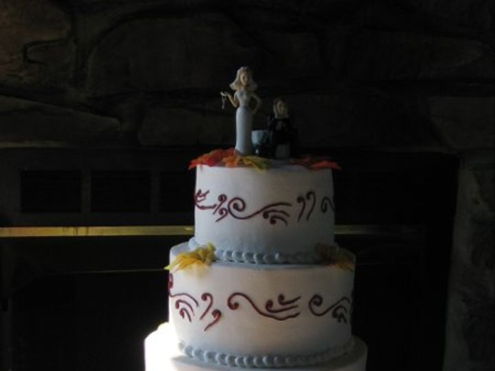 Tmx 1256774127083 IMG2355 Fairfield, Pennsylvania wedding cake