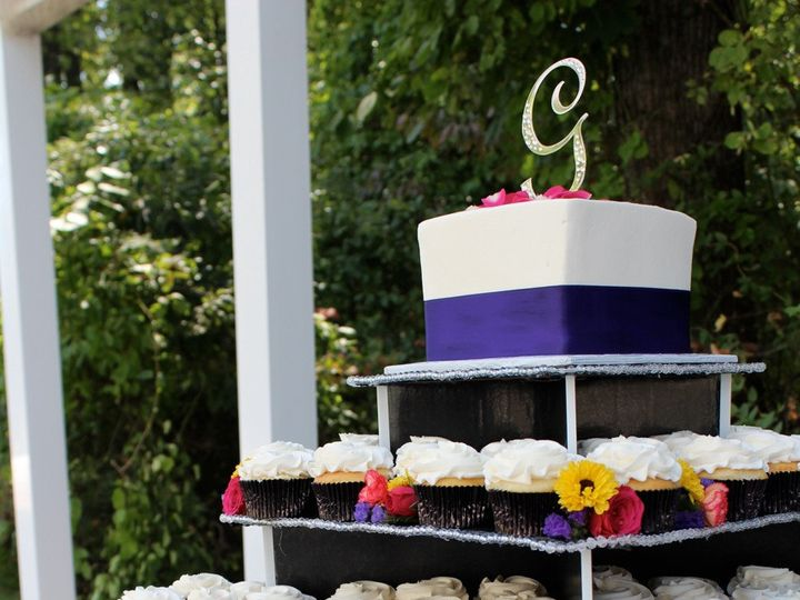 Tmx 1378827304168 Cupcake Wedding 111 Fairfield, Pennsylvania wedding cake