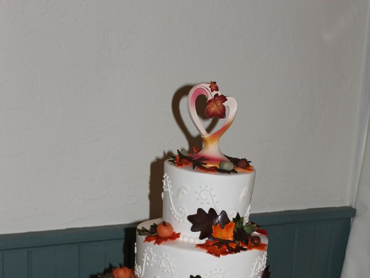 Tmx 1378832041156 New Fall Cake2 Fairfield, Pennsylvania wedding cake
