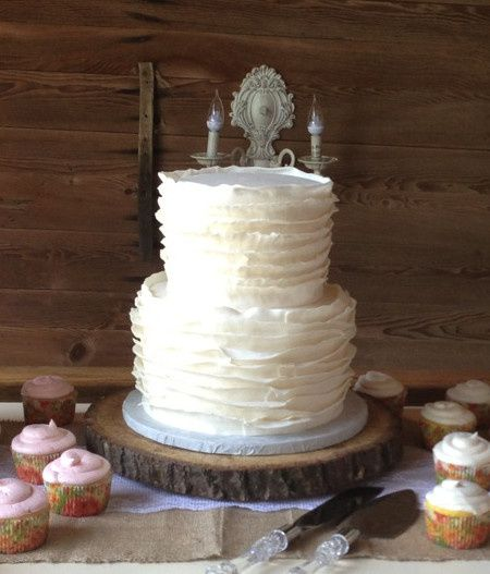 Tmx 1378832432923 Ruffled Cake1 Fairfield, Pennsylvania wedding cake