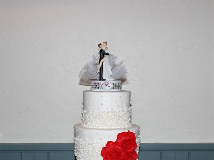 Tmx 1378832441556 Vegas Cake1 Fairfield, Pennsylvania wedding cake