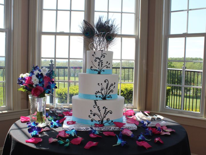 Tmx 1378832637581 Wedding111 Fairfield, Pennsylvania wedding cake