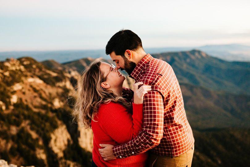 NM Mountain Engagement