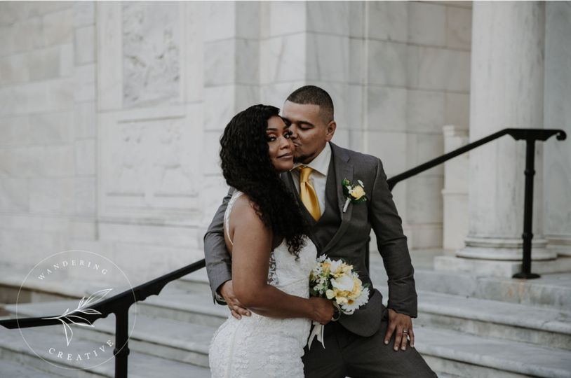 Tracy's wedding