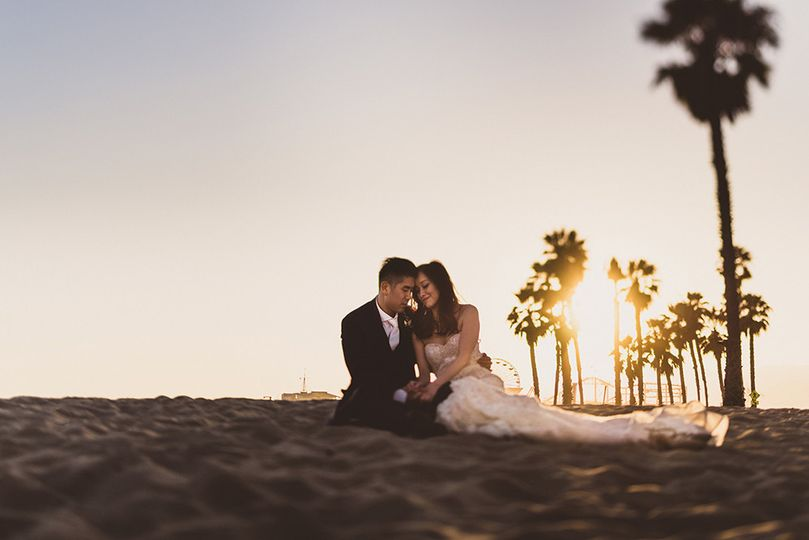 tilt shift santa monica wedding portraits 51 757673 1567839022