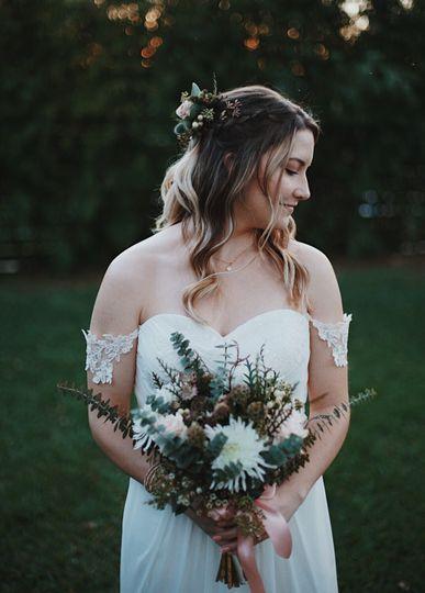 Bride portrait: katelyn