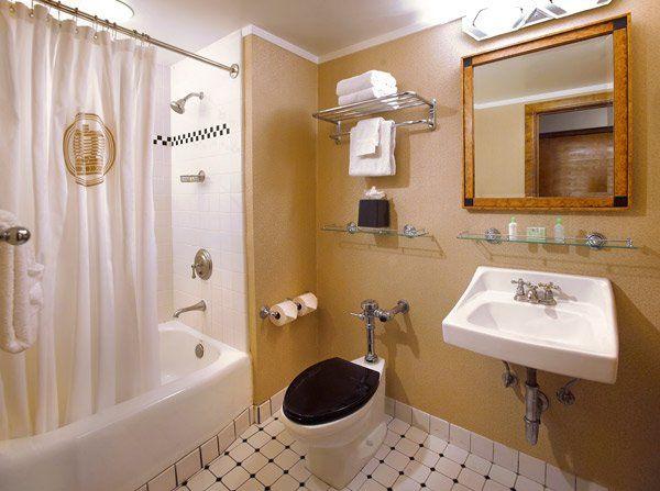 Sample bathroom interiors