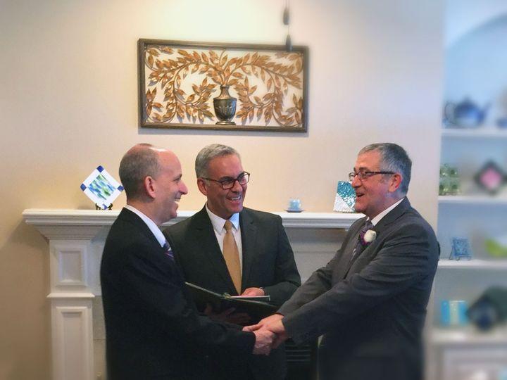 Tmx 1422238020804 Steve Tom Say Vows Durham, North Carolina wedding officiant