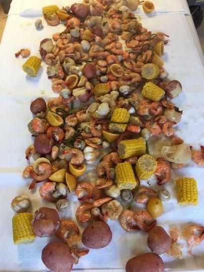 Cajun boiled shrimp